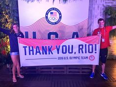 U.S. Olympic Team ‏@TeamUSA  Aug 20 #THANKYOURIO!!!   Only 1 more day left at #Rio2016! #TeamUSA has had a blast. 🇺🇸🏖
