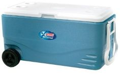 Coleman 100-Quart Xtreme Wheeled Cooler (Blue) by Coleman See the Amazon Page for this brand SALE Price: $89.00  find it here http://www.amazon.com/gp/product/B000G64FJK/ref=as_li_ss_sm_fb_us_asin_tl?ie=UTF8=213733=399837=B000G64FJK=shr=lionle-20=1369852508=8-9=cooler