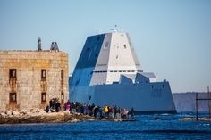 USS Zumwalt's first sea trials in December 2015 :Photo: Dave Cleaveland/MaineImaging.com