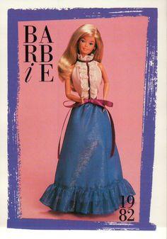 "Barbie Collectible Fashion Card "" Barbie Fashion Favorites "" 1982   eBay"