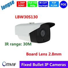 (61.00$)  Watch here  - 960P 2pcs IR array LEDs 1.3MP Vandal Proof  PoE IP Camera Designed for CCTV NVR and 2.8mm Wide View Angle Lens