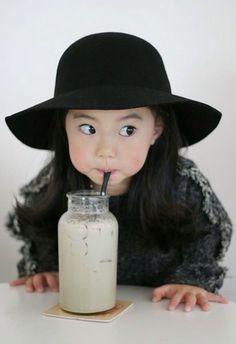 Asian little girl