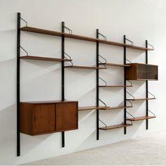 Scandinavian bookcase - bibliothèque scandinave