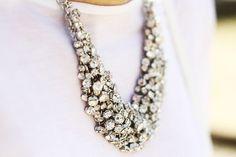 Chunky Rhinestone Necklace