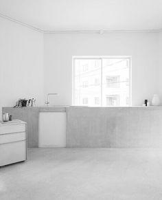 Make it Copenhagen Kitchen, grey, white, simplicity, beautiful