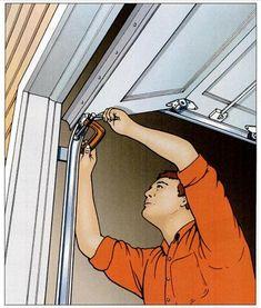 Garage Door Insulation, Garage Door Repair, Garage Door Opener, Garage Doors, Barn Doors, Garage Shop, Garage House, Diy Garage, Garage Lift