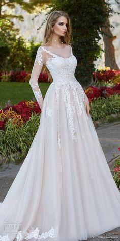 """Victoria Soprano 2017 Wedding Dresses — """"Capri"""" Bridal Collection 7c97848e1f51"""