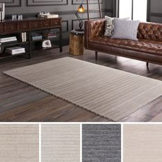 Shop for Hand-Woven Lexie Viscose/Wool Rug (6' x 9'). Get free shipping at Overstock.com - Your Online Home Decor Outlet Store! Get 5% in rewards with Club O!