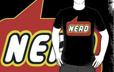 Nerd T-shirt by Bubble-Tees.com by Bubble-Tees