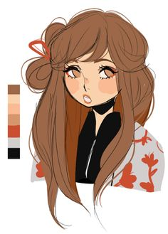 it's my daughter miho for ✨ ✨ ✨ it's still a WIP... i need to add in the bio and stuff -_-;; //edit: i reposted this from my old account sugarglum General Information Name: Hir...