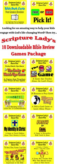 5 Great Games To Teach Your Kids the Books of the Bible