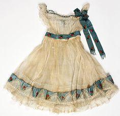 Ensemble Date: ca. 1864 Culture: American Medium: cotton, silk