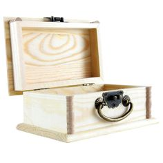 Artminds™ Wood Box with Handle
