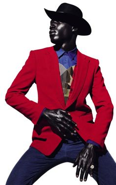 "fashion-spectrum: "" Tafari Hinds by Daniel Sannwald """
