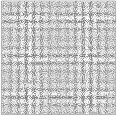 лабиринт - алгоритъм за създаване на лабиринти