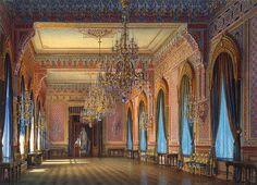 Mansion of Baron A.L. Stieglitz. The Drawing-Room - Luigi Premazzi - Cerca con Google