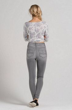 Abercrombie Sydney Natural Waist Jeggings