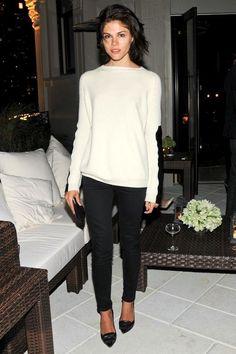 Get Emily Weiss' Cozy Chic Date Night Look (Le Fashion)