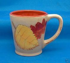 Pretty Fall mug.
