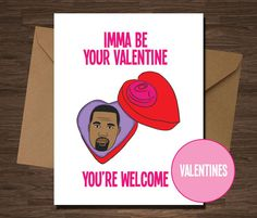 Funny Valentine Card for Boyfriend Girlfriend by diamonddonatello