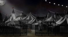 the night circus | circus tents