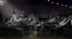 the night circus | circus tents