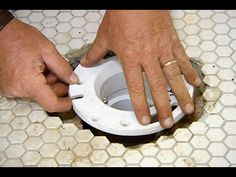 DIY Toilet Flange Repair - Learn how to replace the toilet flange ...