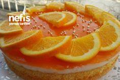 Light Cake Recipe with Orange Sauce Light Cakes, Orange Recipes, Beautiful Cakes, Yummy Treats, Cake Recipes, Deserts, Food And Drink, Tasty, Fruit