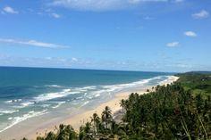 Praia de Itacarezinho, em Itacaré. Visite o BrasilGuias