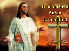 Free Christian Wallpapers: Jesus Christ Defeated Satan