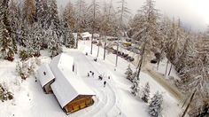 The Nordic Center of Ovronnaz: enjoy the winter differently. Luge, Nordic Center, Places In Switzerland, Cross Country Skiing, Nature, Centre, Beautiful Places, Hiking, Outdoor