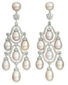 Pearl Stud Earrings, Sterling Silver Earrings Studs, Women's Earrings, Tiffany Jewelry, Luxury Jewelry, Fashion Earrings, Jewels, Diy Design, Jewelry Collection