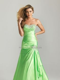 Green Starpless Sequin Long Prom Dresses Sale [Sequin Long Prom Dresses] - $180.00 : Discount Dresses for Prom 2013,Up 50% Off