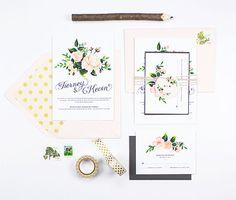 #hochzeitspapeterie #calligraphy #papeterie #stationery Wunderschöne Hochzeitsdeko von Etsy & 1 x 100€ Gutschein gewinnen! | Hochzeitsblog - The Little Wedding Corner