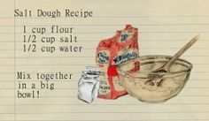 How to Make Salt Dough for Crafts
