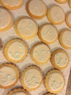 Baptism christening cookies