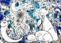 Blue moon.... by HannahChapman.deviantart.com on @deviantART