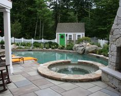 Eclectic Home Shed Design, Pictures, Remodel, Decor and Ideas - page 19 Outdoor Spaces, Outdoor Living, Outdoor Decor, Outdoor Fun, Outdoor Ideas, Pool Shed, Little Pool, My Pool, Pool Cabana