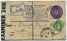 old irish postage stamp