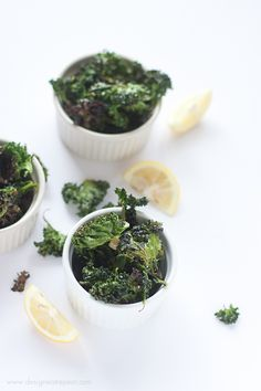 Garlic and Lemon Kale Chips