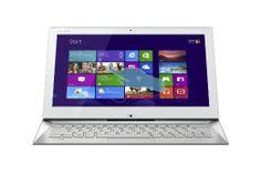 Amazon.com: Sony VAIO SVD1322DCXW 13.3-Inch Convertible 2-in-1 Touchscreen Ultrabook (White): Computers & Accessories