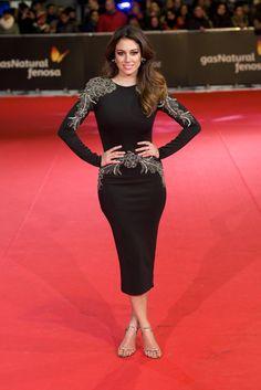 Blanca Suarez in Roberto Diz at the Feroz Awards 2014