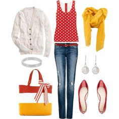 Cheerful, created by bluehydrangea on Polyvore