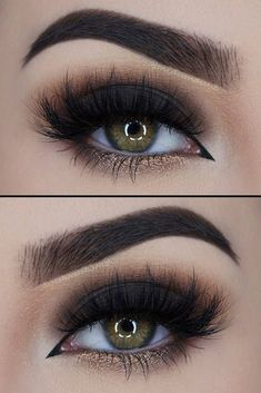 20+ hottest smokey eye make-up ideas 2018