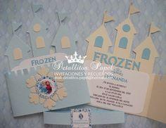 Invitación Castillo Frozen