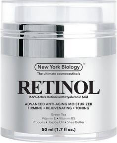 Retinol Cream Moisturizer with Hyaluronic Acid - Daily Moisturizing Cream Helps Fight Signs of Aging and Get Rid of Wrinkles from Face and Eye Area 1.7 fl oz * Be sure to check out this awesome product. (Note:Amazon affiliate link)