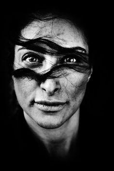 Mellica Mehraban, Iranian-born Danish actress by Laerke Posselt, Copenhagen, May 4, 2011