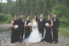Elk View Lodge Wedding. Bridal Party, Wedding Party