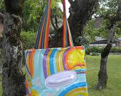 Badetasche BT13 Upcycle, Etsy, Tote Bag, Vintage, Bags, Fashion, Craft Gifts, Taschen, Purses