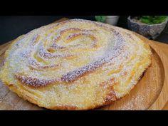 Πάρτε 2 μήλα και φτιάξτε αυτή την υπέροχη συνταγή χωρίς λάδι, χωρίς βούτυρο / #ASMR - YouTube Apple Desserts, Great Desserts, Apple Recipes, Sweet Recipes, Real Food Recipes, Baking Recipes, Cake Recipes, Dessert Recipes, Farmers Market Recipes